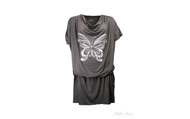 Tunika Butterfly grey
