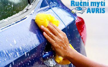Ruční mytí a čištění exteriéru a interiéru auta