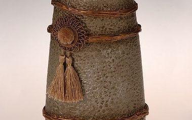 Keramická dekorační váza Oran, 29 cm, HTH netradičního vzhledu