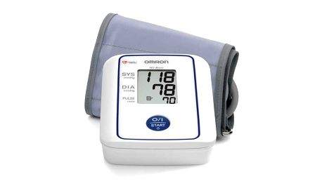 Základní typ pažního tonometru Omron M2 pro měření krevního tlaku