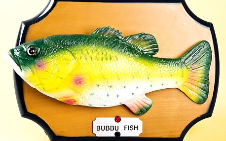 Zpívající ryba - vtipný a originální dárek