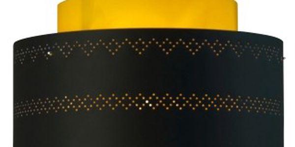 Stínidlo Looma Kono Black Yellow - klasické tvary i lehké inovace do moderního pojetí