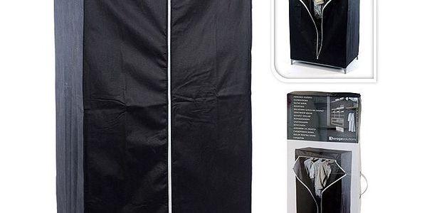 Textilní skříň 110 x 46 x 175 cm - praktický pomocník v každé domácnosti