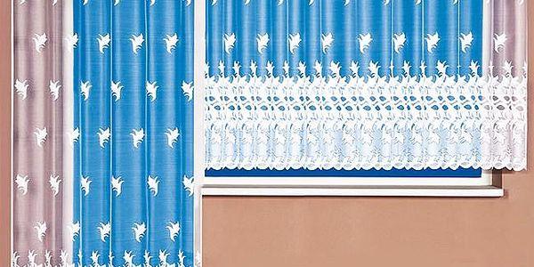 4Home žakárová záclona Vivien