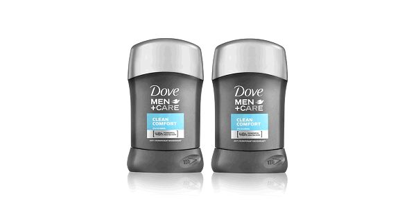 2xDove M+C deo stick Clean Comfort 50ml