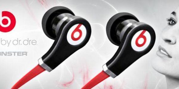 Oblíbená špičková sluchátka Monster Beats by Dr. Dre Tour: kabel se nezamotá