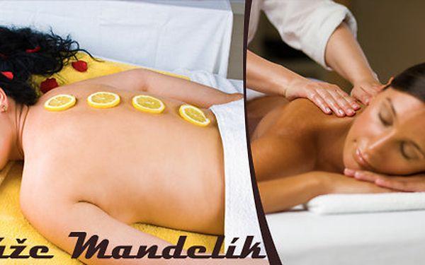 Bylinková masáž s citronem včetně bylinkového zábalu