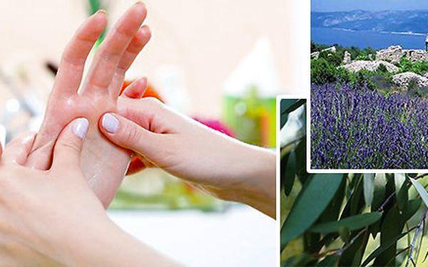 Hodinová masáž rukou + ramenního pletence a šíje