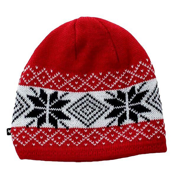 Červená čepice s norskými motivy Big Star