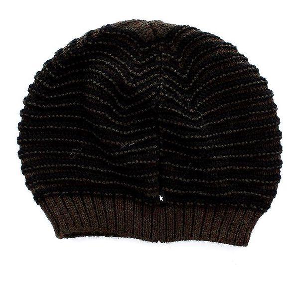 Dámská pletená pruhovaná čepice Big Star