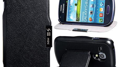 Ochranné pouzdro pro Samsung Galaxy S3 Mini - černá barva a poštovné ZDARMA! - 2907452