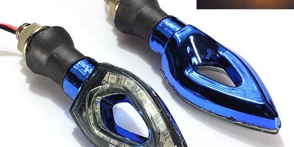 LED blinkry na motocykl - 12 LED, 2 barvy a poštovné ZDARMA! - 6207448