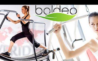 MĚSÍČNÍ ČLENSTVÍ pro vstup na všechny stroje V SALÓNU BOLDEO se slevou 56 %: Dejte si pořádně do těla na špičkových strojích Slender, VacuFit, New roll, FiveRiders, vibrační plošině či kole. Navštivte moderní salón přímo na Florenci.