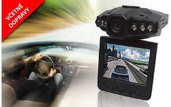 Přenosná kamera do auta a interiérů za 699 Kč včetně dopravy! Kameru stačí připevnit na čelní sklo a mít tak veškeré dění v HD kvalitě monitorováno!