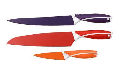 Barevná sada kuchyňských nožů - 3 ks