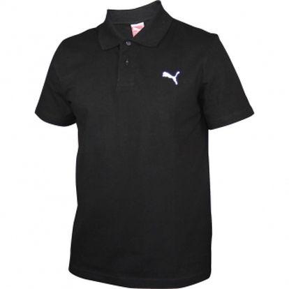 Klasické pánské Polotriko - Puma ESS POLO černá pro volný čas a běžné nošení