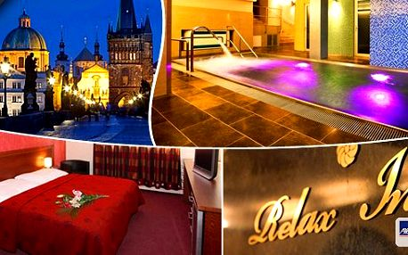 Hotel roku 2013Spa & Wellness - Hotel Relax Inn - regionální vítěz Prahy 9 Vás zve na 3 denní pobyt pro dva s vydatnými snídaněmi a slevami do kvalitního wellness centra s relaxačním bazénem, saunou, bylinnými koupelemi a masážemi!!