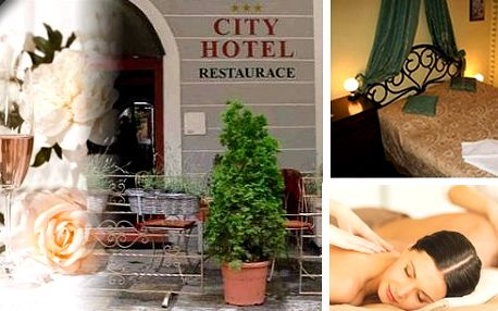 Oddejte se romantickým chvilkám ve dvou! Přinášíme vám skvělé 3 dny v jihočeské perle v hotelu City***. Ubytování v elegantních pokojích s romantickou atmosférou, chybět nebudou bufetové snídaně a romantická tříchodová večeře, masáž a růžový sekt