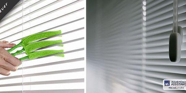 Praktický čistič žaluzií s 40% slevou. Vychytávka na boj s prachem! Radujte se z čisté domácnosti, šetřete síly i čas!!