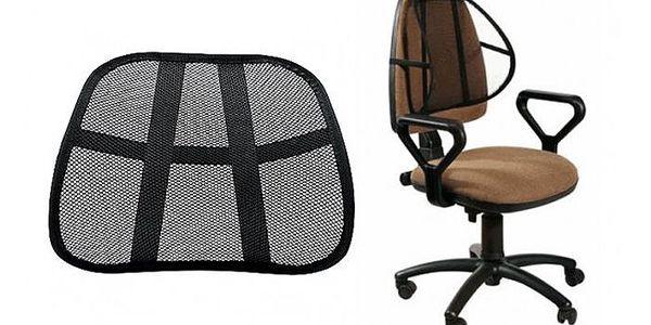 Ergonomická opěrka na židli