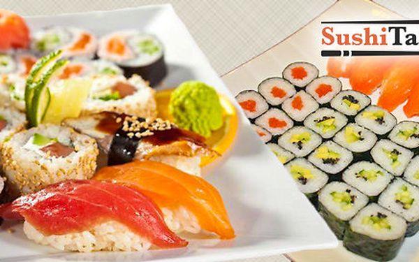 Sushi sety s sebou - 30 kousků i možnost polévek