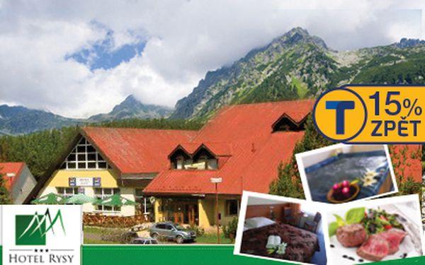 Zima a léto ve Vysokých Tatrách od 1939 Kč na 4 dny! Ubytování s polopenzí, wellness a další!