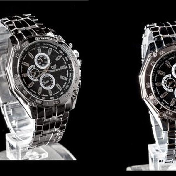 Elegantné hodinky ORIANDO HS-18 vyrobené z kvalitnej ocele pre každodenné alebo reprezentatívne nosenie!