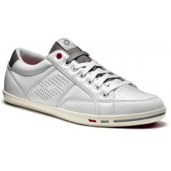 Pánská lehká a pohodlná lifestylová obuv - Lotto WAYNE VI LTH bílá