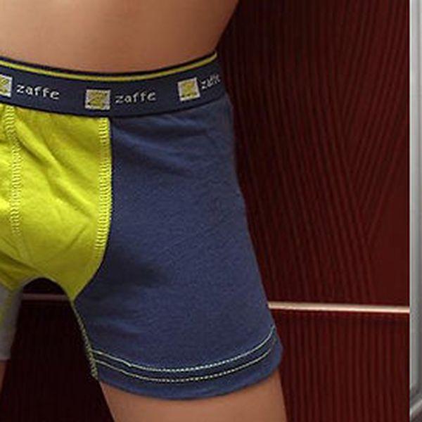 2× krásné chlapecké boxerky ZB-006-B ze 100% bavlny