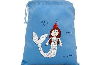 Modrý sáček Mořská panna s mnohostranným využitím