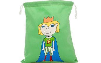 Zelený sáček Princ na všemožné poklady