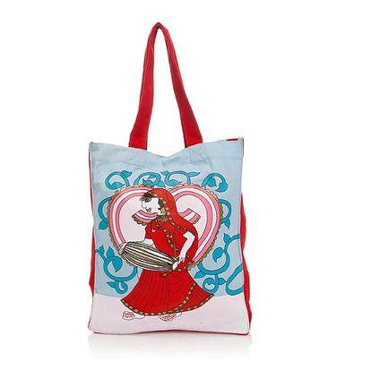 Parádní bavlněná taška přes rameno Tanečnice