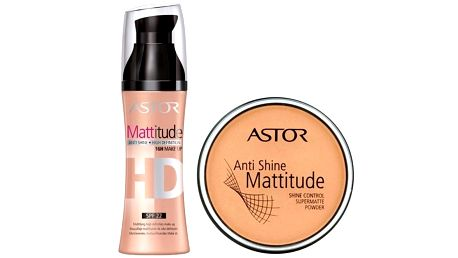Astor Set pro zmatnění pleti Mattitude
