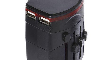 5v1 cestovní adaptér s USB porty a poštovné ZDARMA! - 6607463