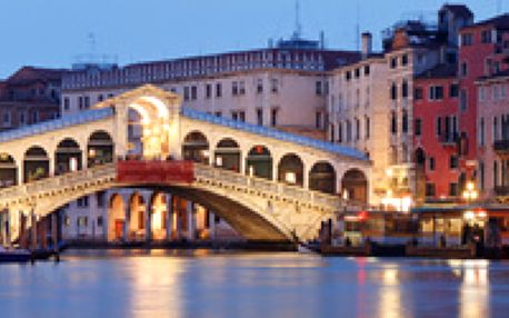 Karneval v Benátkách 2014 - Rej masek v pohádkovém městě na laguně a nevšední romantika karnevalu za 1199 Kč za osobu v termínu 21. - 23.2.2014