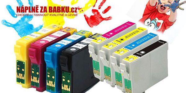 2 varianty sad kompatibilních náplní do tiskáren Epson