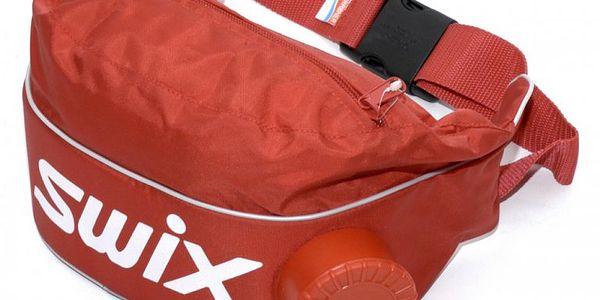 Praktická ledvinka Swix s integrovanou izolovanou termo lahví nejen pro sportovce a závodníky