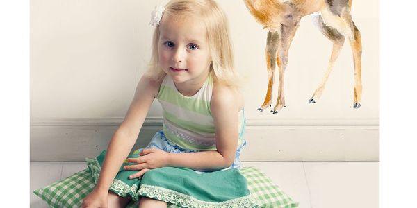 Krásná samolepka Deer Darling Small