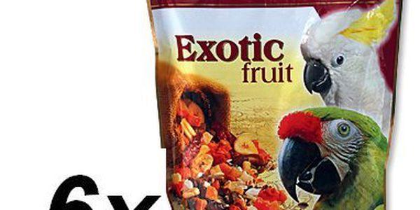 Versele-Laga Exotic směs ovoce, obilovin a semen pro velké papoušky 6 x 600g