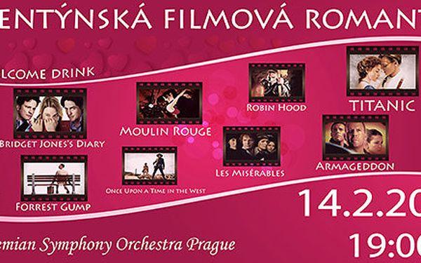 Valentýnský koncert romantických filmových melodií