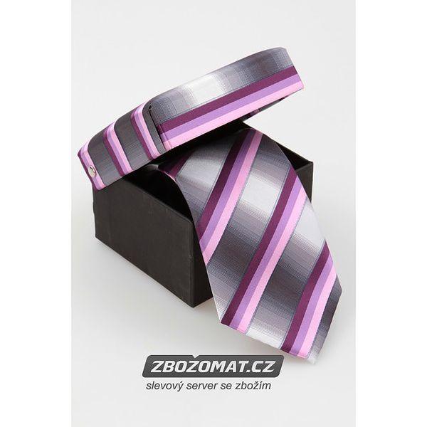 Pánská hedvábná kravata v mnoha vzorech balena v krásné dárkové krabičce!