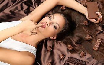 Valentýnské 90 minutové čokoládové hýčkání celého ...