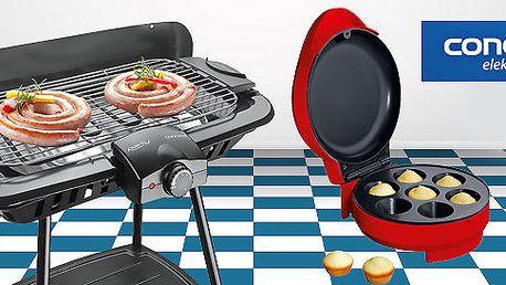 Kvalitní elektrický muffinovač nebo gril Concept