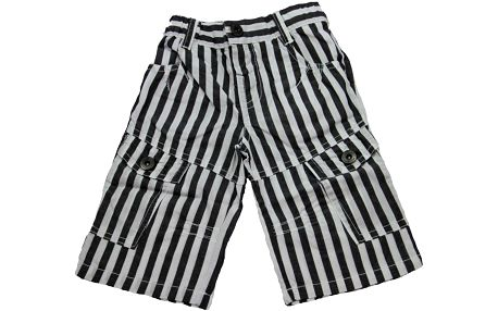 Dirkje Pruhované 3/4 kalhoty American Star
