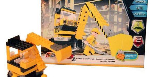 Velmi kvalitní stavebnice Block Tech od firmy GRAFIX