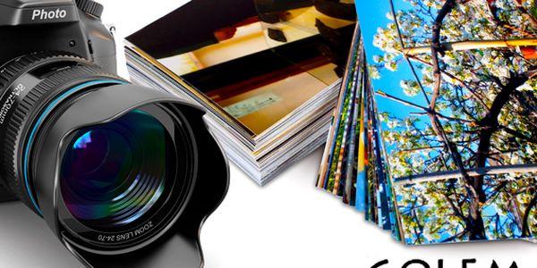 Tisk 100 fotografií 10×15 nebo 9×13 cm