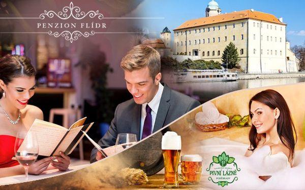 Pivní lázně Poděbrady – wellness balíček s 43% sle