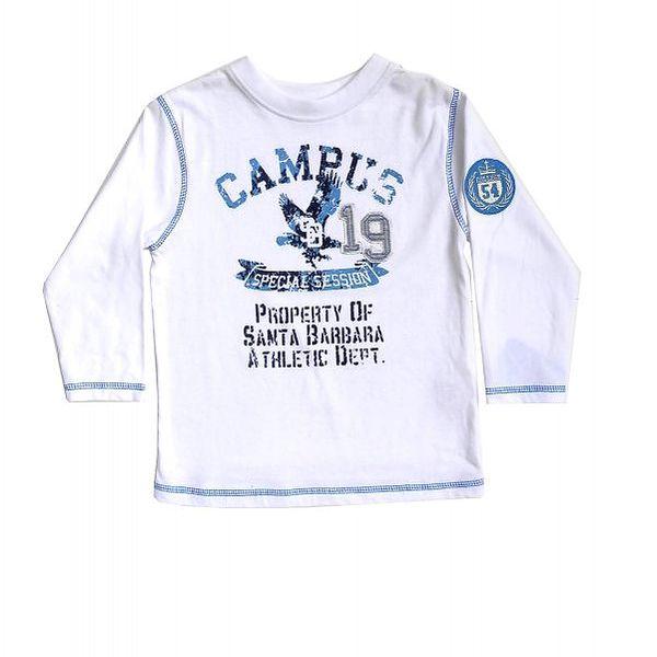 Krásné triko s dlouhým rukávem pro chlapečky od CQ JUNIOR