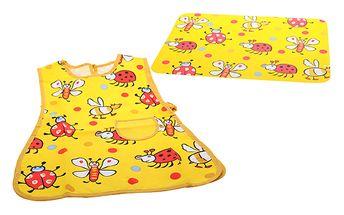 Dětská podložka + zástěrka žlutá od Cosy & Trendy KIDS