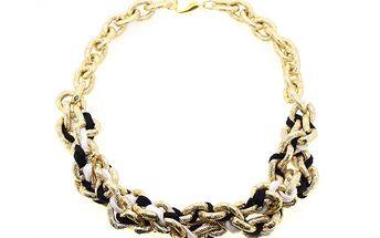 Zlatý propletený řetěz od Solv & Art